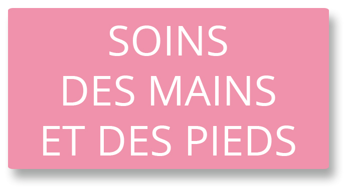 Bouton soins mains pieds